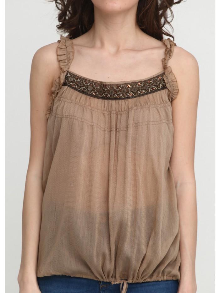 Трикотажна блуза T-002