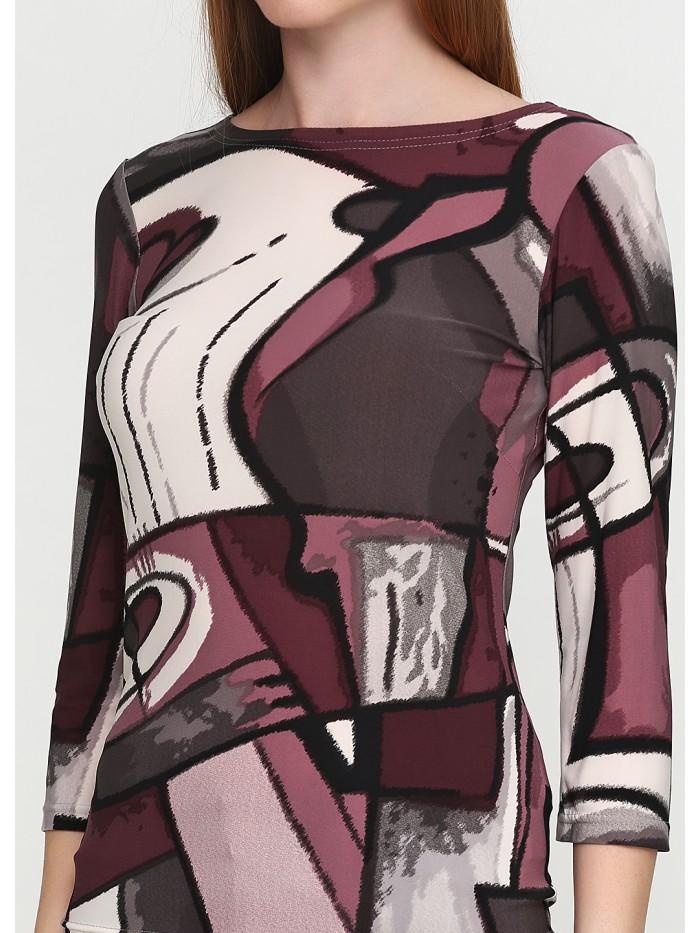 Трикотажна блуза T-060