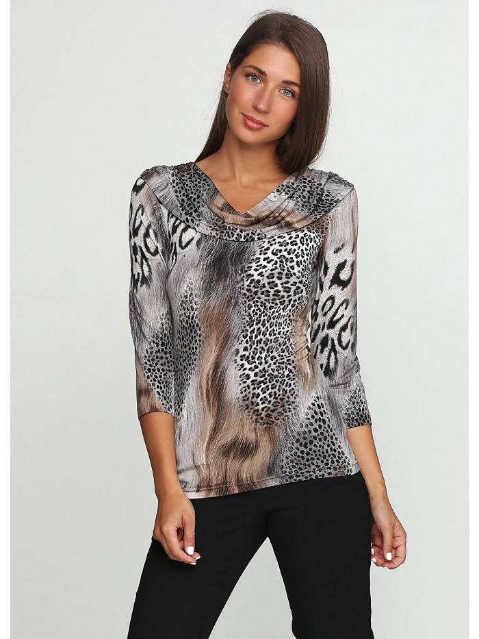 Трикотажна блуза T-068