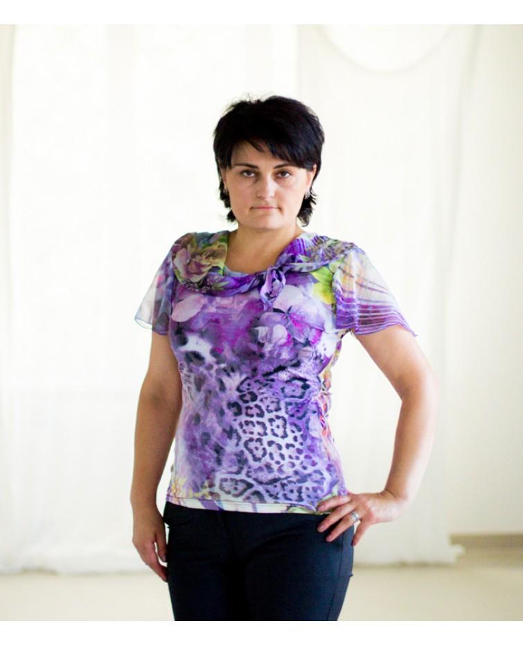 Трикотажна блуза T-069