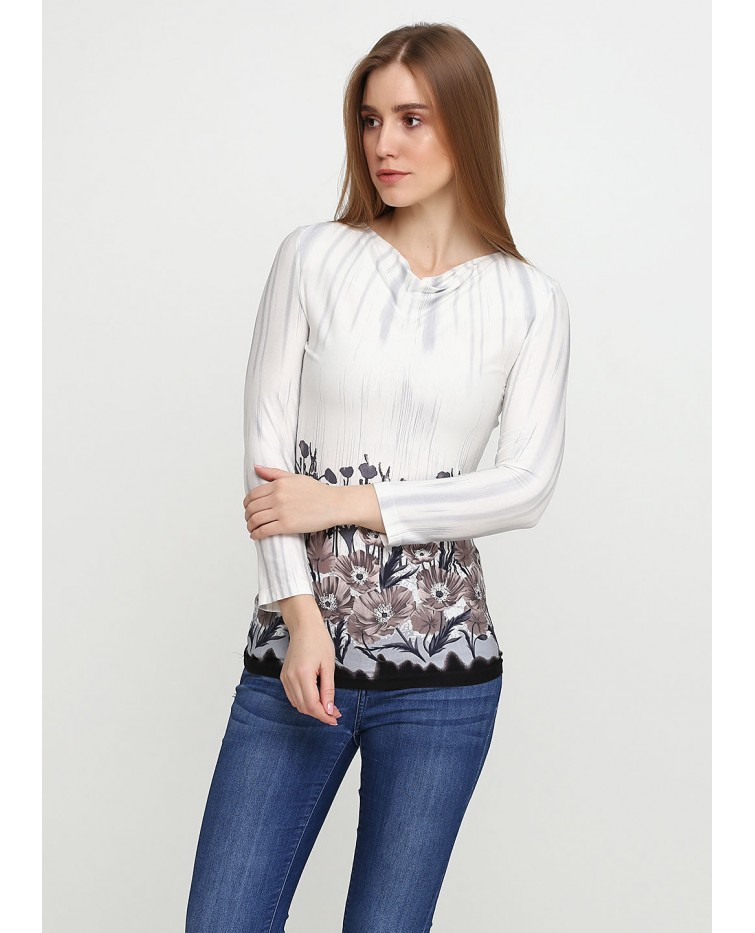 Knitted blouse T-121