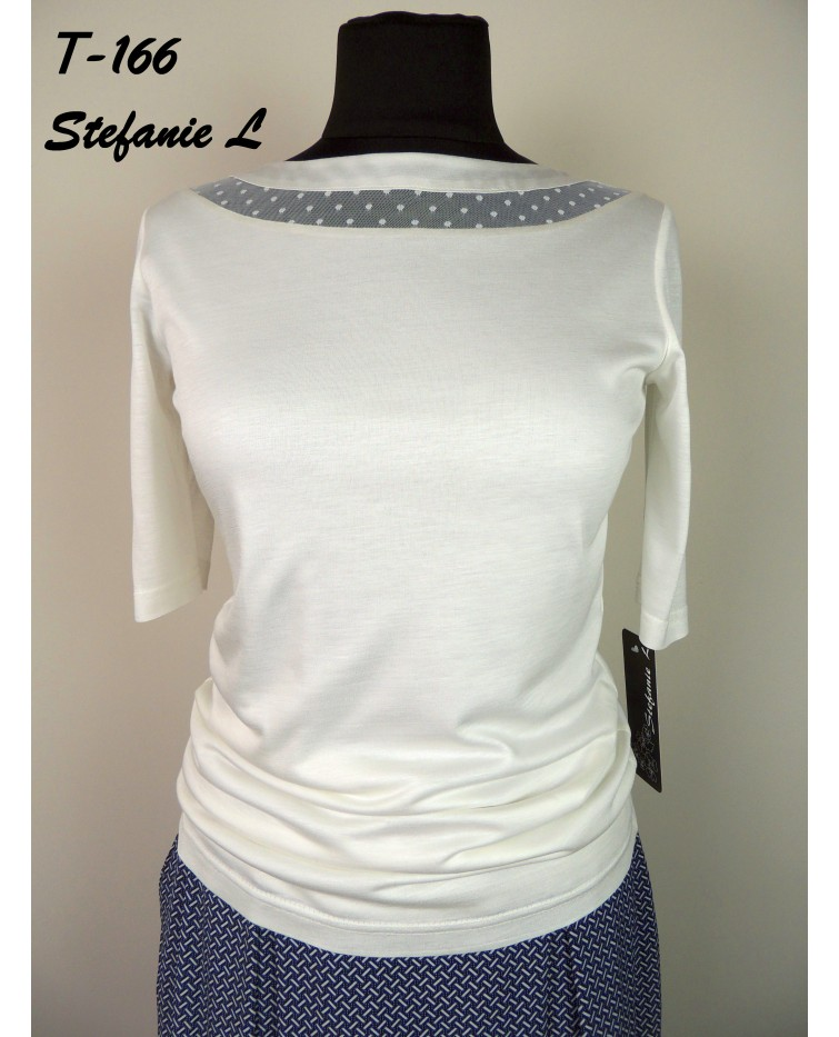 Knitted blouse T-166