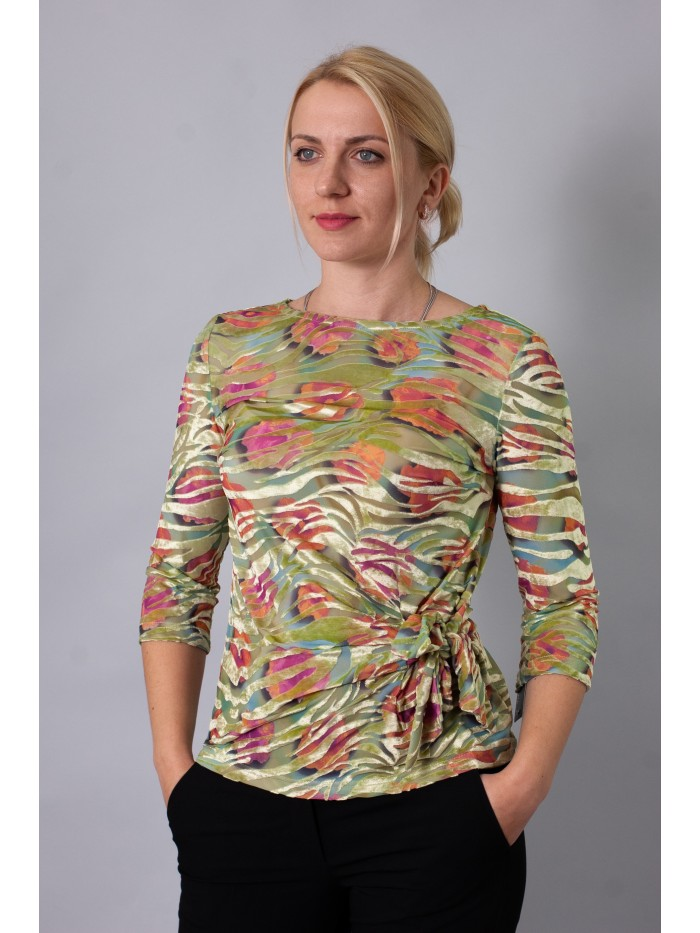Knitted blouse T-176