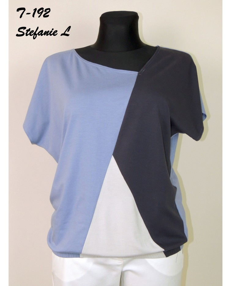 Трикотажна блуза T-192
