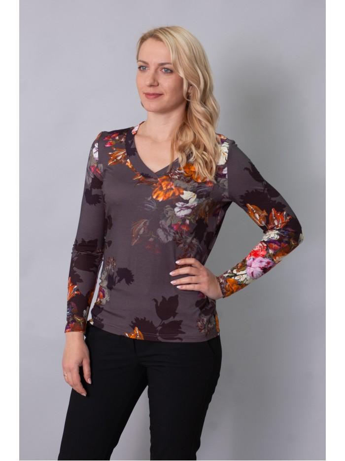 Трикотажна блуза T-202