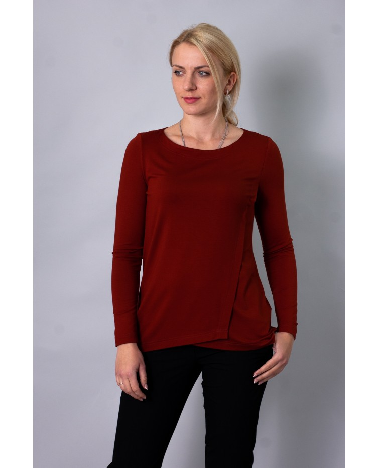 Knitted blouse T-210