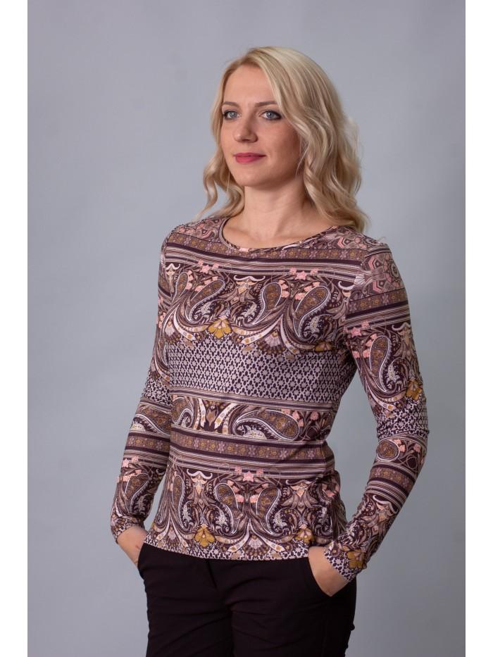 Трикотажна блуза T-215