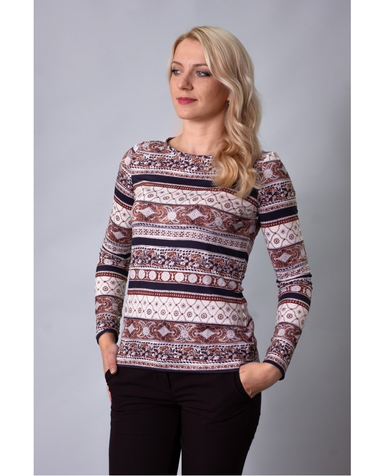 Knitted blouse T-216