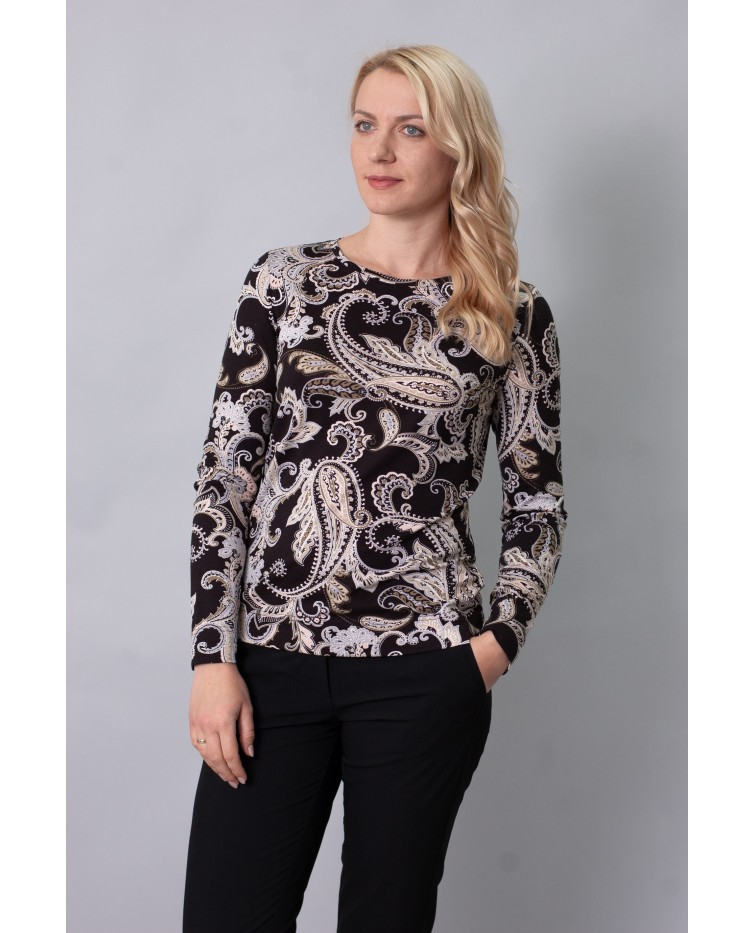 Knitted blouse T-217